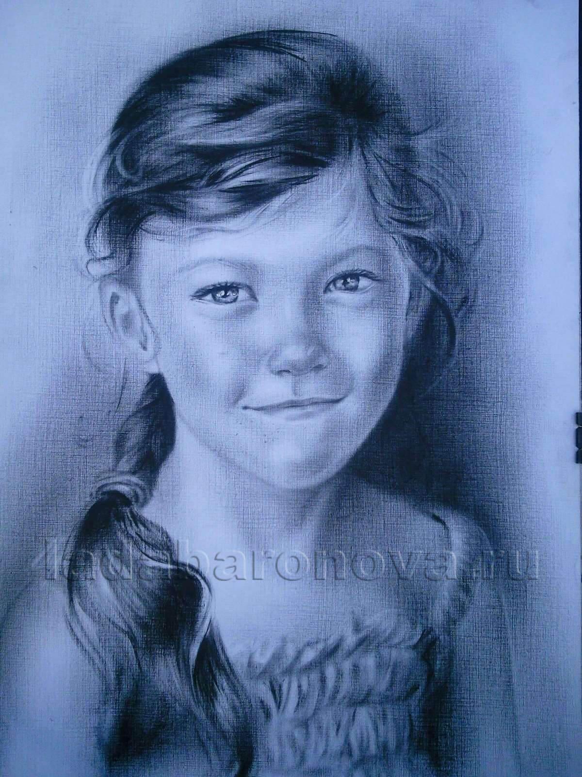 Портрет девочки «Косичка»