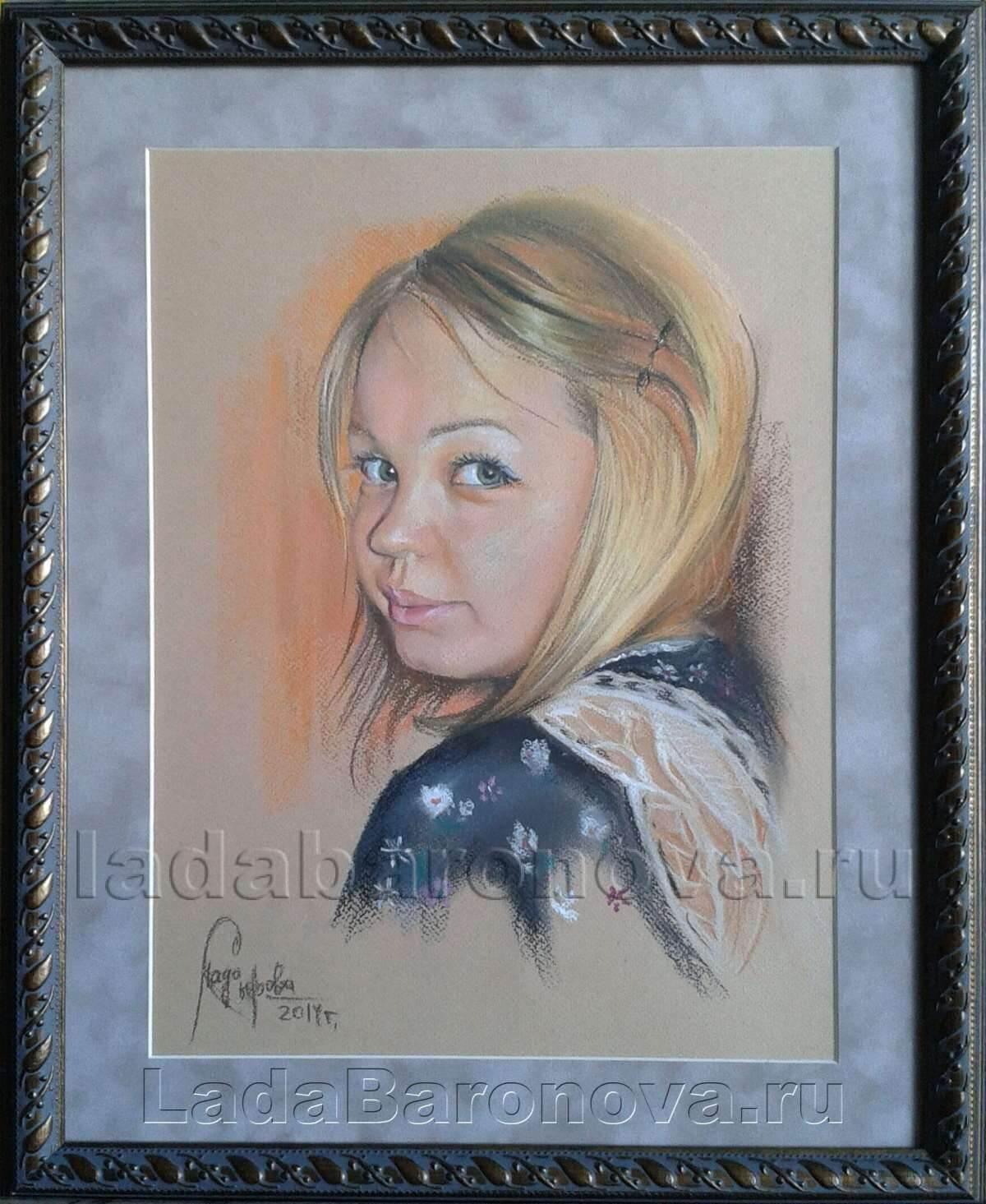 Портрет девушки «Славянка»