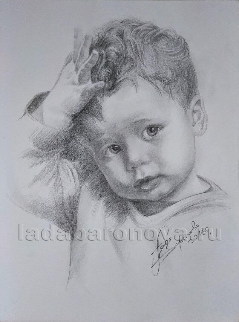 Портрет мальчика «Малыш»