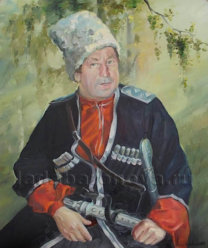 Портрет мужчины «Казачек»