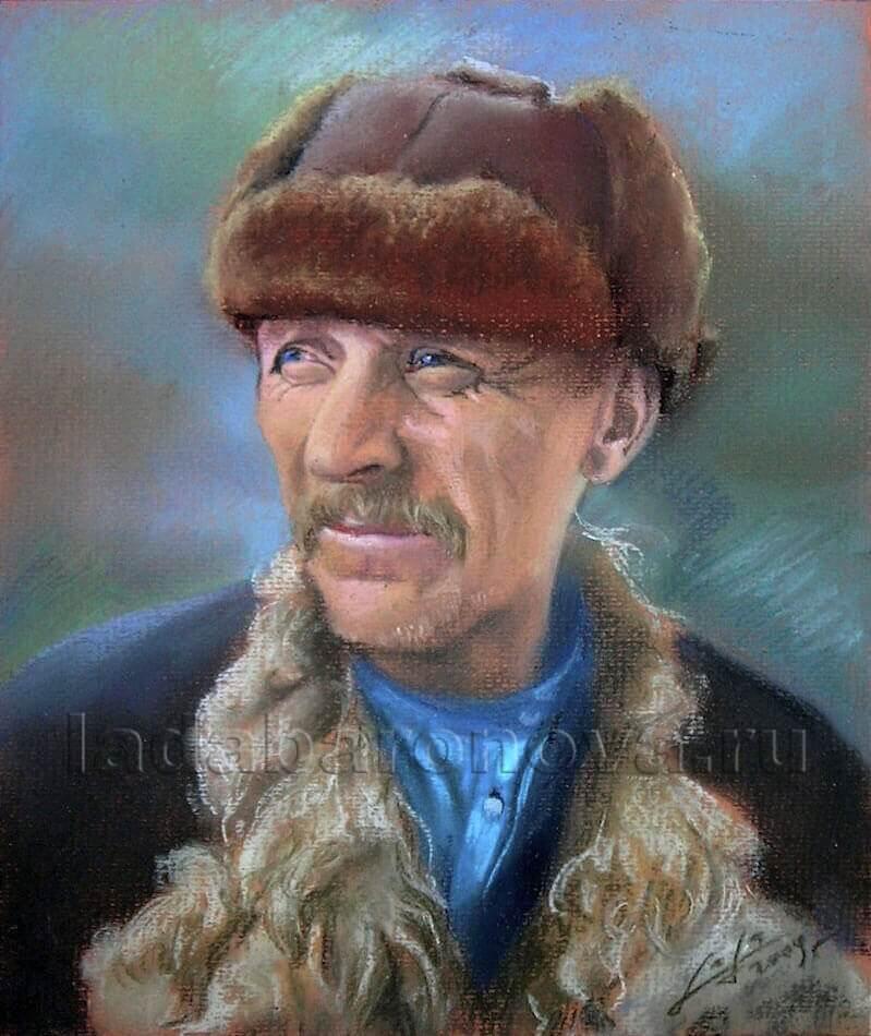 Портрет мужчины «Крестьянин в тулупе»