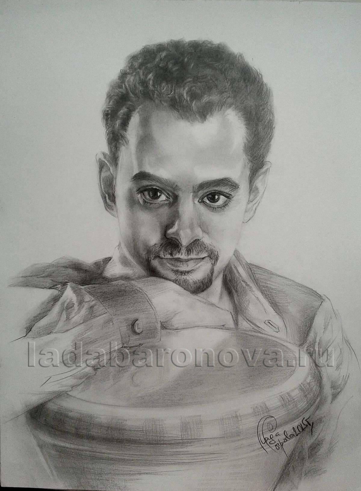 Портрет парня «Барабанщик ашико»