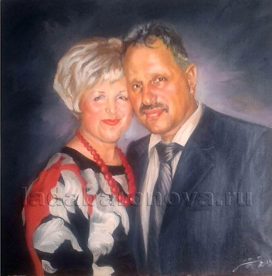 Портрет двойной  «К юбилею»