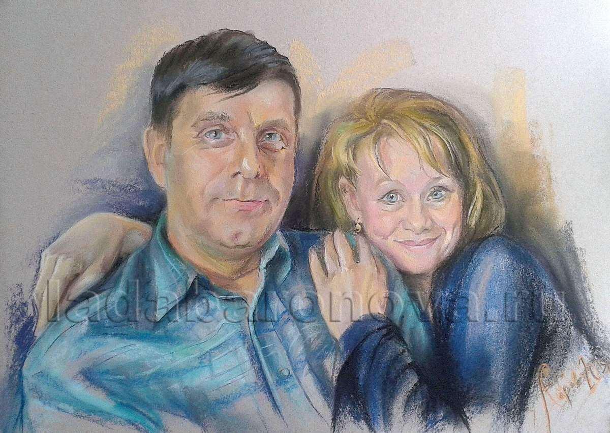 Портрет парный «Супруги»