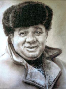 Портрет Леонова
