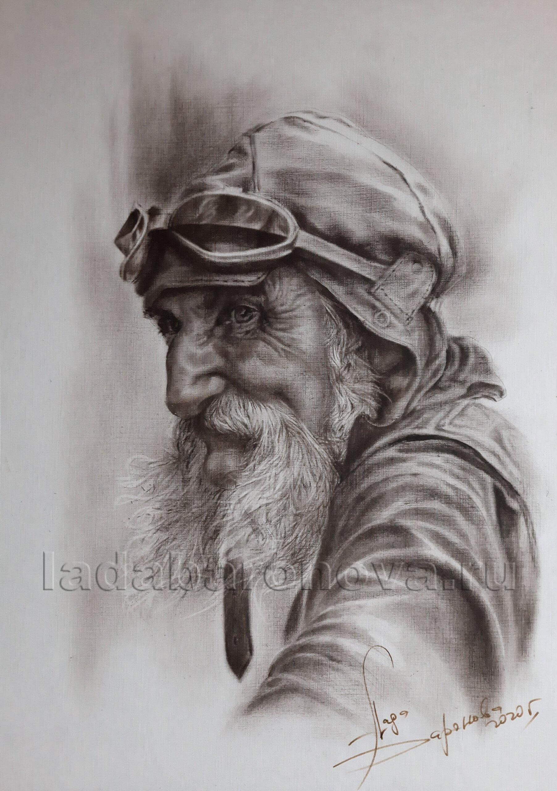 Портрет «Байкер»