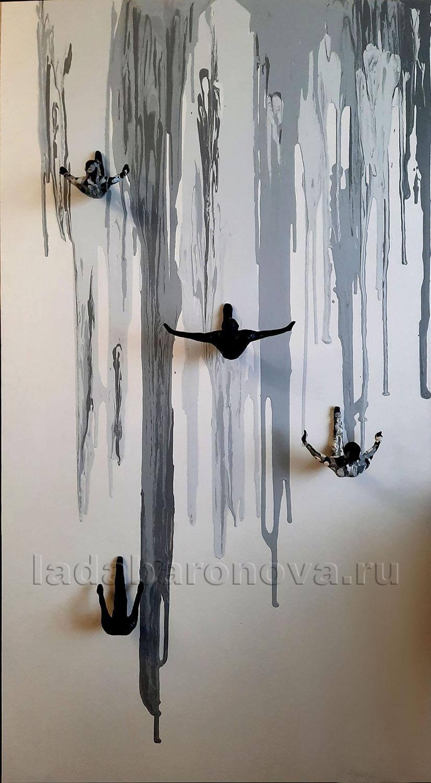 Инсталляция » Прыгуны»